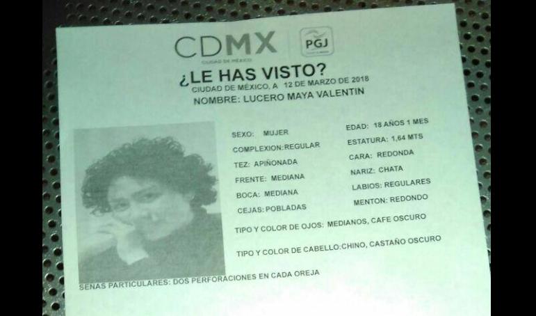 Reportan desaparecida a otra estudiante de la UNAM en CDMX