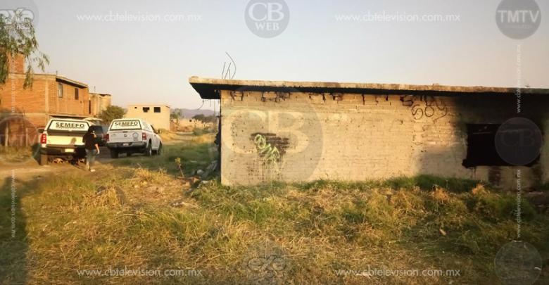 Morelia: Niños localizan a hombre muerto en un inmueble abandonado