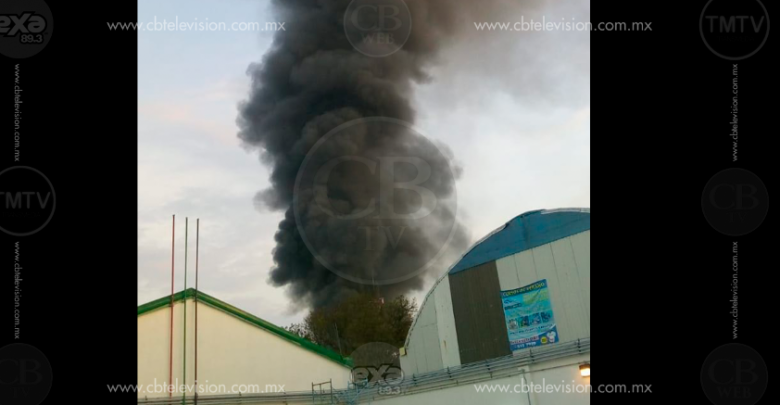 Se incendia Megacable en Zamora, no se reportan lesionados