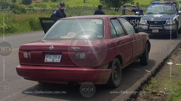 Joven que fue subida a la fuerza a un auto era llevada a un centro de rehabilitación: Policía