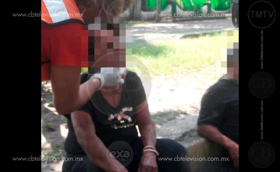 De telenovela, 2 mujeres se pelean a golpes el amor de un hombre en el centro de Apatzingán