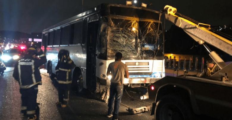 VIDEO: Accidente en la México-Pachuca deja un muerto y 15 heridos