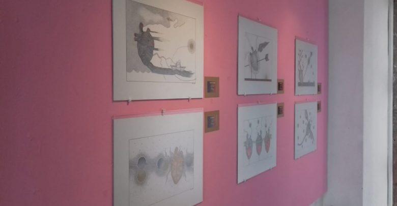 """La exposición pictórica """"De Puro Corazón"""" de Jesús Gardio Ramírez en las aulas de la Casa de la Cultura"""