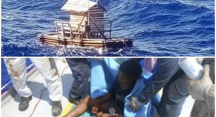 Sobrevivió 49 días a la deriva con una cabaña flotante y una biblia
