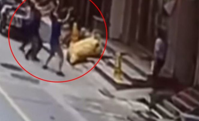 Se fracturan los brazos por salvar a niña tras caer de un edificio