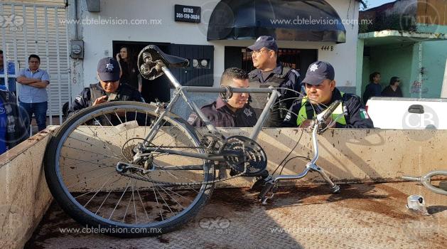 Arrollan a ciclista en Zamora