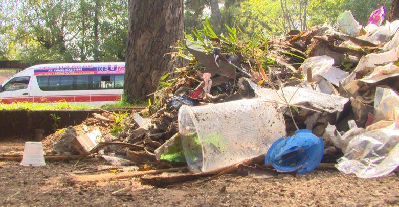 Morelianos denuncian basura en el Bosque Cuauhtémoc
