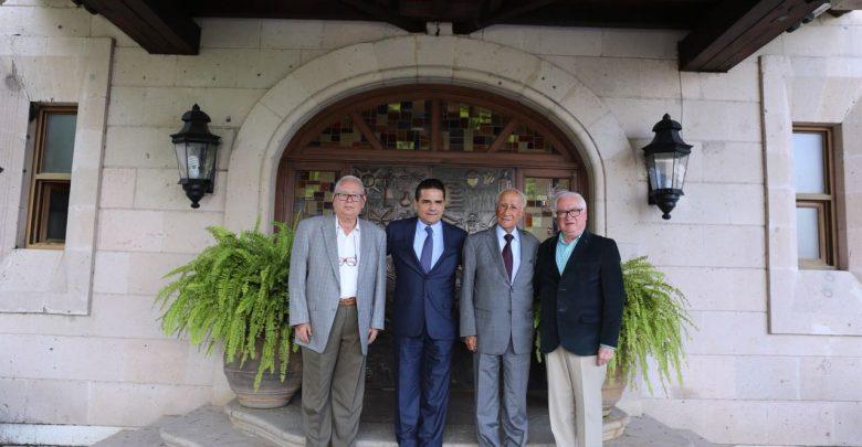 Silvano y los ex gobernadores