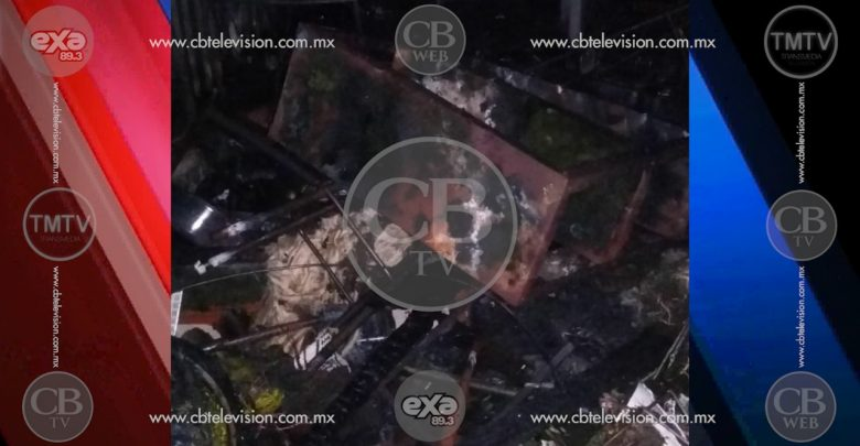 Arde vivienda en la Morelos, no hay lesionados