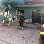 Un incendio de casa-habitación se registró la mañana de este domingo