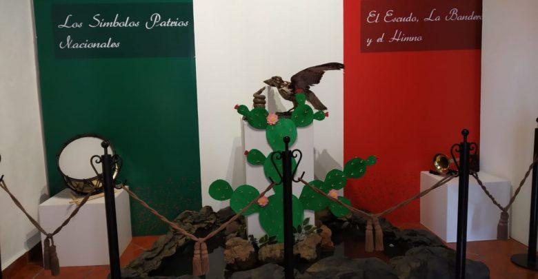 """Se presentó en el Museo Histórico del Poder Judicial de Michoacán la inauguración de la exposición """"Los símbolos Patrios Mexicanos: el escudo, la bandera y el himno nacional"""""""