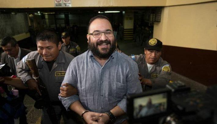 Sonreí cuando me detuvieron porque sabía que todo era un circo: Javier Duarte
