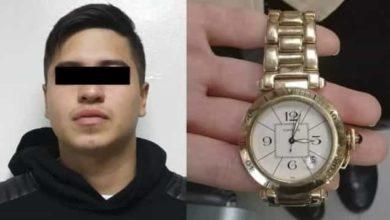 Robó reloj de 150 mil pesos a su novia para empeñarlo, lo descubrieron