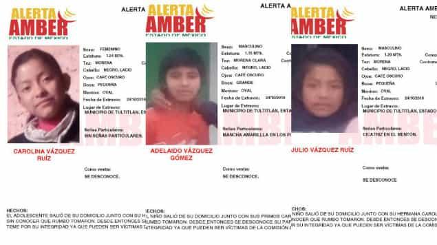 Desaparecen 3 niños indígenas en CDMX; iban a vender tamales