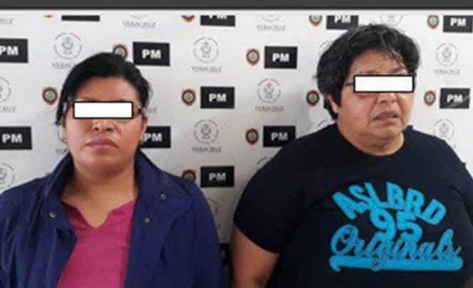 Detienen a 2 mujeres por maltratar y encadenar a niño de 8 años