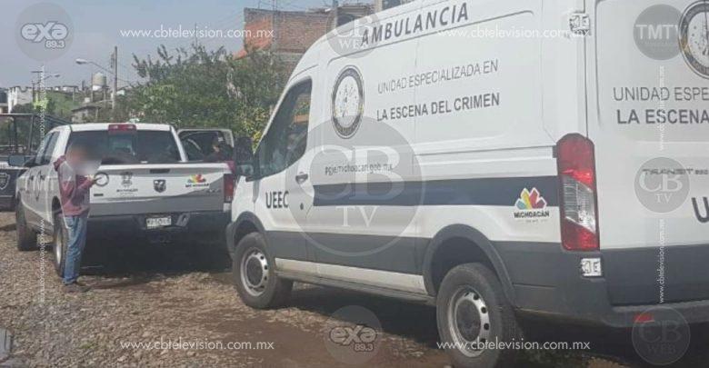 Joven es acribillado a balazos en calles de Apatzingán
