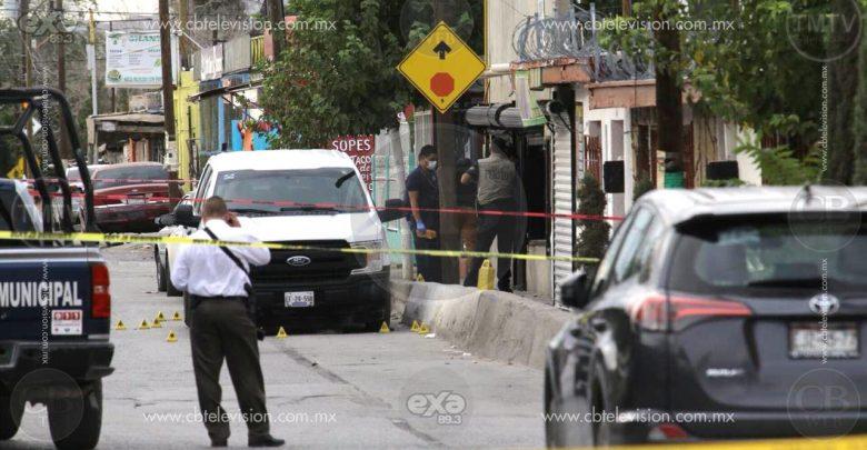 Pistoleros balean y hieren a cinco Policías Investigadores en Juárez
