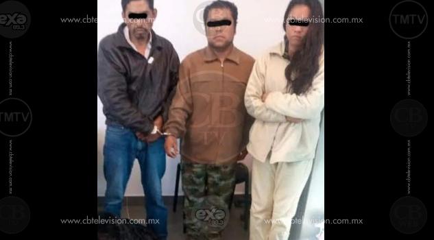 Policía Michoacán captura a tres presuntos ladrones en Zitácuaro