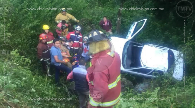 3 heridos en 3 accidentes en la Región Uruapan