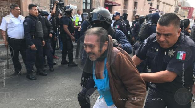 Libres los detenidos del FNLS que hubo en desalojo en Morelia