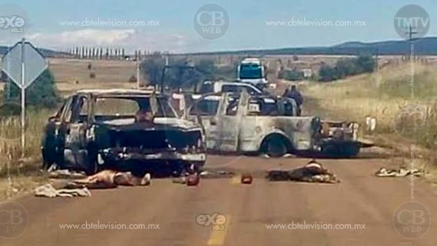 Se enfrentan grupos delictivos en Chihuahua; hay 5 muertos