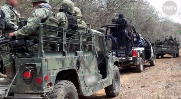 Dos presuntos pistoleros mueren en balacera contra soldados