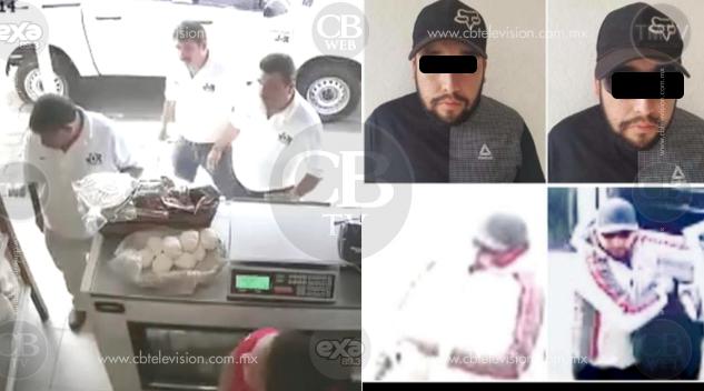 Detienen a asesino detres productores de aguacate en una tienda de Uruapan