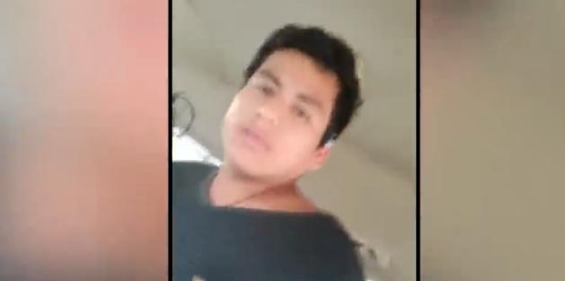 VIDEO: Se masturba en un autobús, lo filman y termina suplicando que no lo denuncien