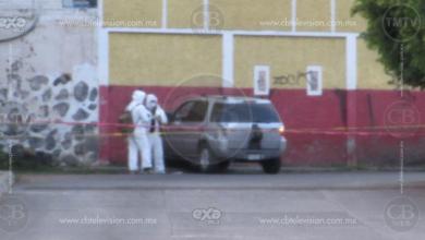 Conductor de camioneta muere tras atentado a balazos en Jacona
