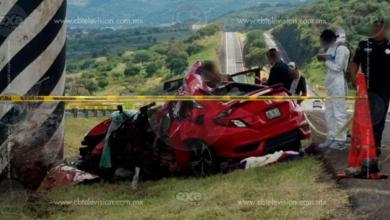 Muere automovilista tras choque en la Autopista de Occidente
