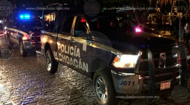 Le siguen los pasos a los delincuentes en Uruapan