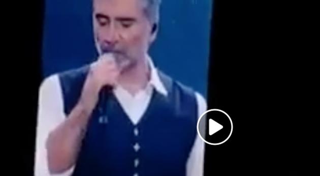 """VIDEO: Alejandro Fernández da concierto en aparente """"estado incoveniente"""""""