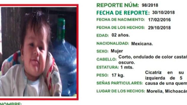 MORELIA: Se roba a la bebé de su amiga en una cafetería del Centro