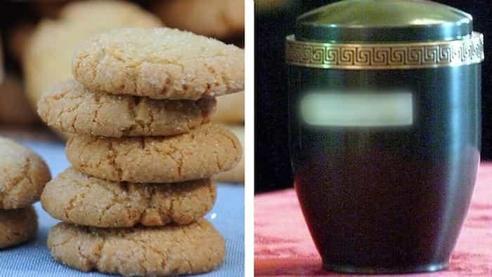 Estudiante reparte a su compañeros galletas hechas con las cenizas de su abuela