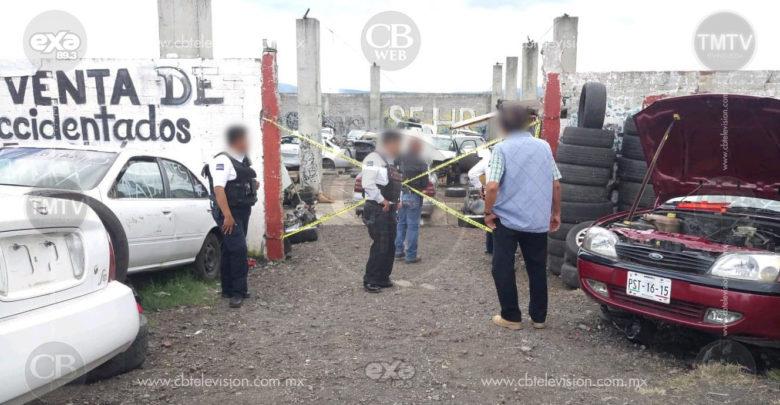 Fallece trabajador de deshuesadero en Morelia al sufrir descarga eléctrica y caída de varios metros
