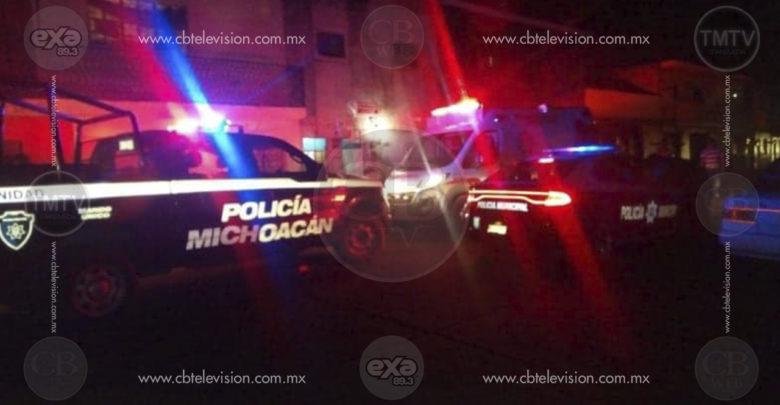 Matan a balazos a un hombre en el centro de Zacapu