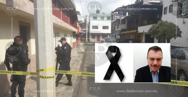 Matan a balazos en Uruapan a José Mauricio Ochoa, ex secretario del Ayuntamiento de Apatzingán