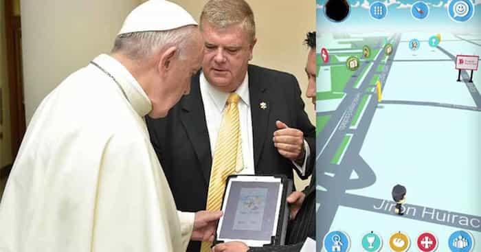 Llega 'Follow JC Go'; la versión católica de 'Pokémon Go', el Papa le da la bendición