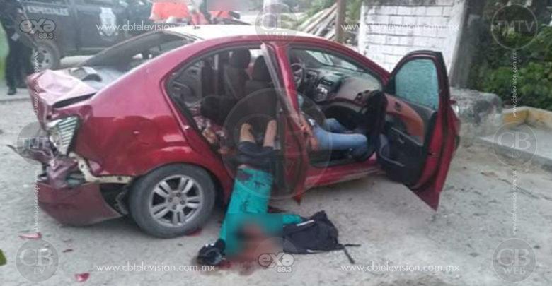 Policías dan muerte a cinco jóvenes armados de entre 15 y 20 en enfrentamiento