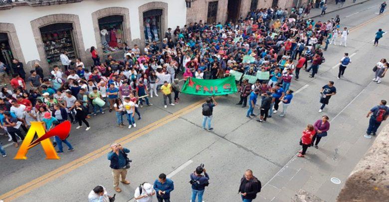 Protestas Pasan Factura Al Congreso Maestros Jubilados, Universitarios Y Personal De Salud