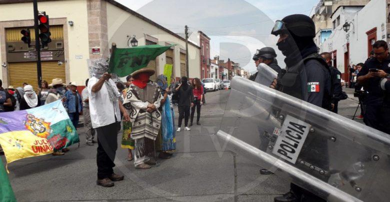 Detiene Policía Estatal el avance de FNLS