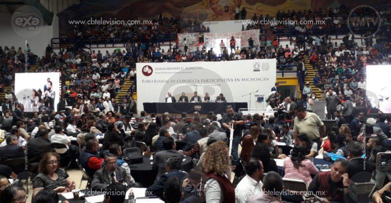 Concluye Foro Estatal de Consulta Participativa en Michoacán