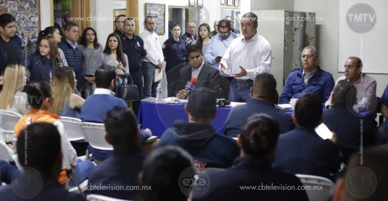 Ayuntamiento recuperará condiciones dignas para coordinación de Protección Civil y Bomberos de Morelia