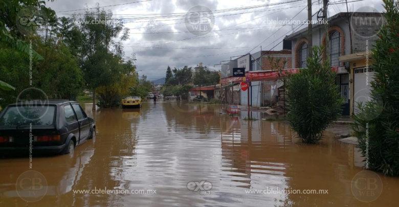 Nivel de inundación ha disminuido en colonias: Protección Civil Municipal