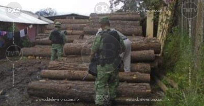 Tras inspección, Profepa decomisa madera en aserraderos de Morelia