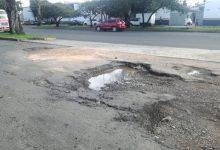 Por falta de atención, baches de la Av. Madero continúan sin solución