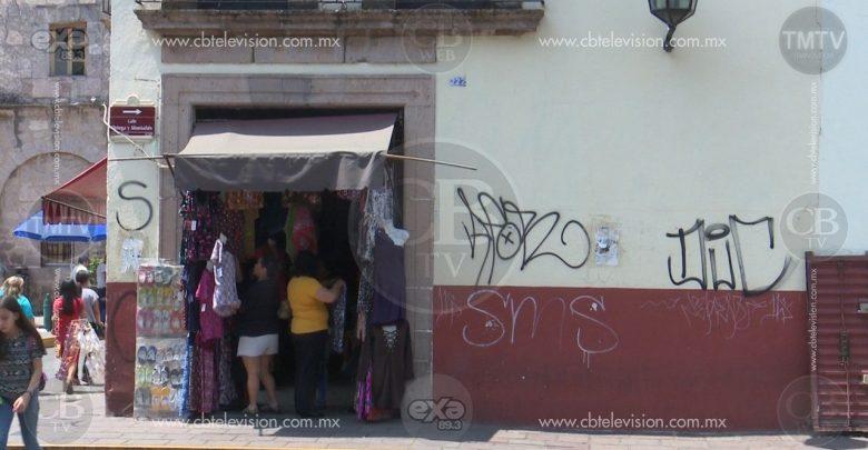 Decrecen anualmente afectaciones a inmuebles derivado de marchas: Gerencia del Patrimonio de Morelia
