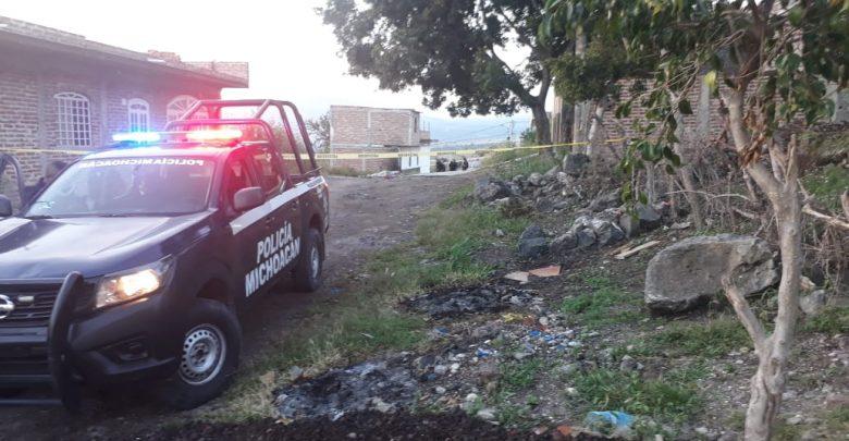 Hombre joven fallece al ser baleado en Sahuayo