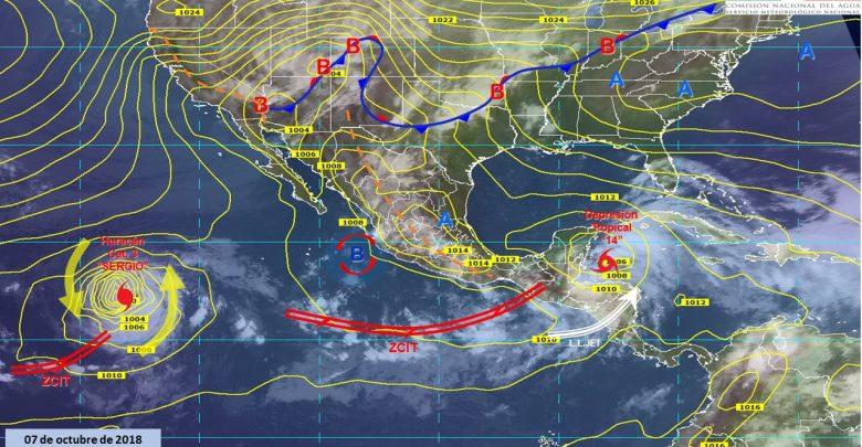 Pronóstico meteorológico del estado