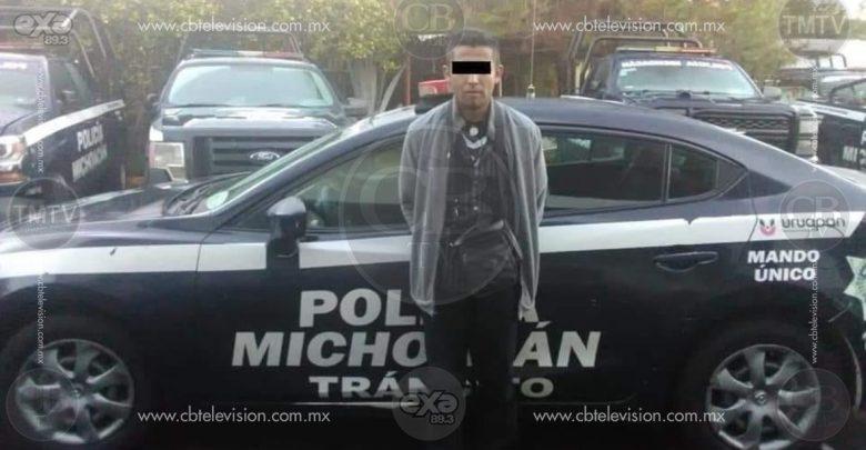 Presumía su camioneta y la policía lo arresta porque era robada